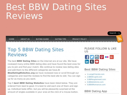 bbwdatingwebsites.org thumbnail