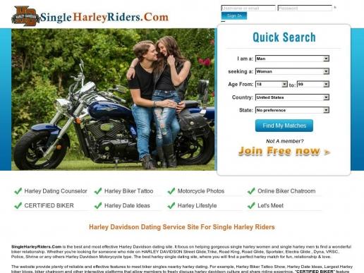 singleharleyriders.com thumbnail