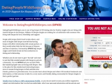 datingpeoplewithherpes.com thumbnail