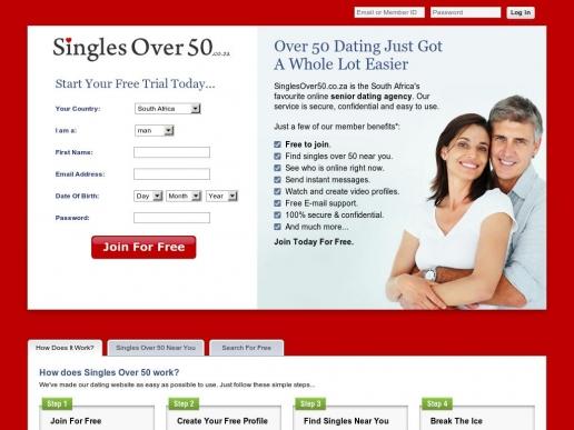 singlesover50.co.za thumbnail