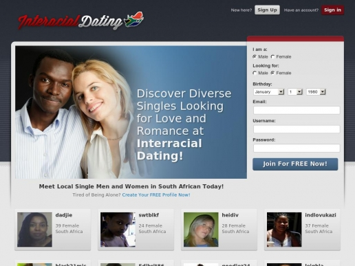 Interacial dating online