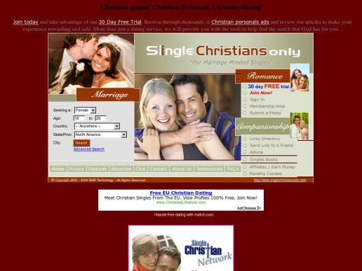 canada christian singles Christiancafecom is more than just a christian dating site many of our members seek fellowship, support, advice and laughs through group conversation on the site most popular is our christian forums which have become a great way to really get to know other christian singles and potential matches.