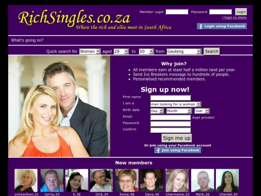 richsingles.co.za thumbnail