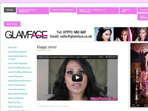 glamface.co.uk thumbnail