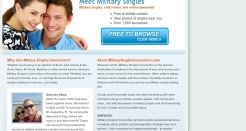 militarysinglesconnection.com thumbnail