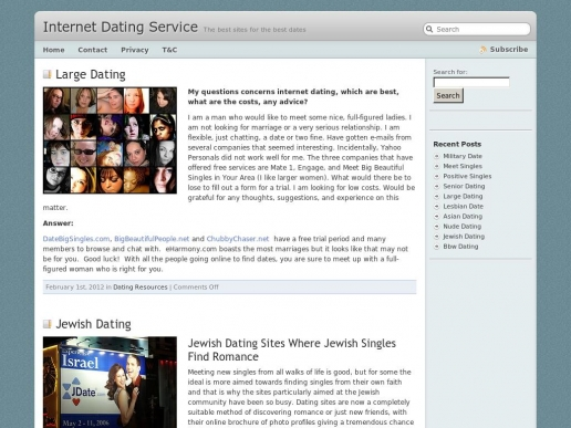 internetdatingservice.net thumbnail