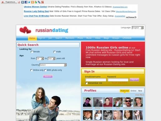 russiandating.ru thumbnail