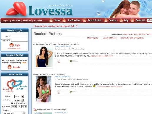 Lovessa russian dating millionaires dating website uk