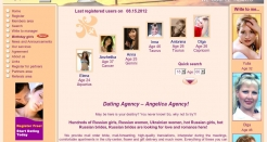 angelicaagency.com thumbnail