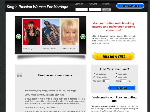 singlerussianwoman.us thumbnail