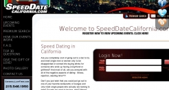 speeddatecalifornia.com thumbnail