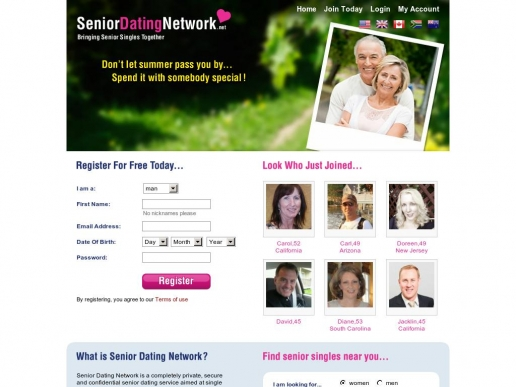 seniordatingnetwork.net thumbnail
