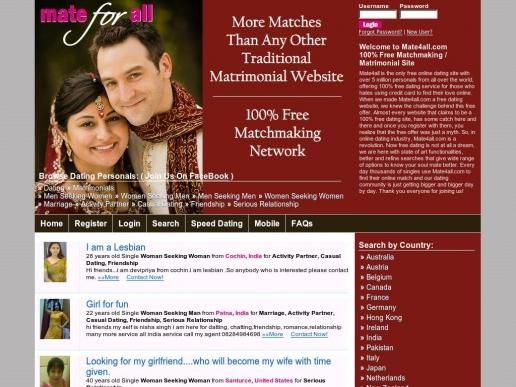 Mateforall dating site sheena parveen dating scott hartnell