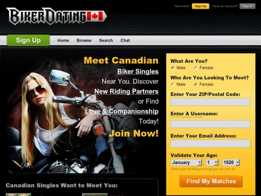 bikerdating.ca thumbnail