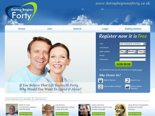 datingbeginsatforty.co.uk thumbnail