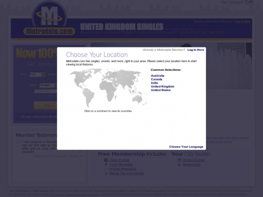 metrodate.co.uk thumbnail