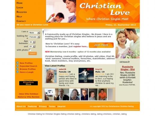 christianlove.co.uk thumbnail