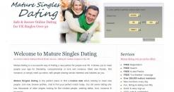 maturesinglesdating.co.uk thumbnail