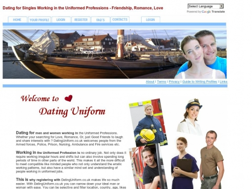 datinguniform.co.uk thumbnail