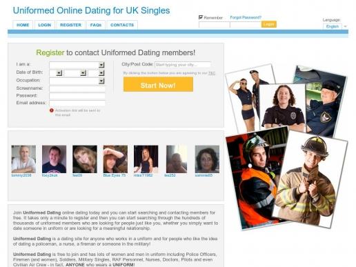 uniformeddating.co.uk thumbnail
