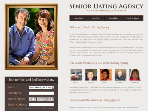 seniordatingagency.org.uk thumbnail