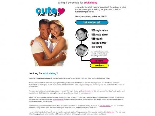 cuteandsingle.co.uk thumbnail