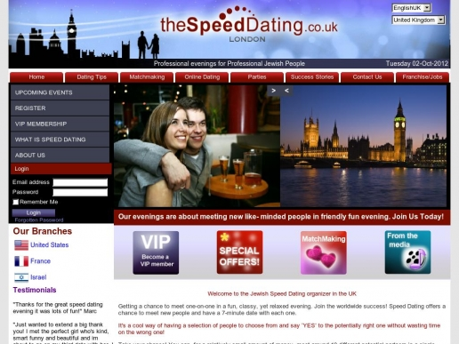 thespeeddating.co.uk thumbnail