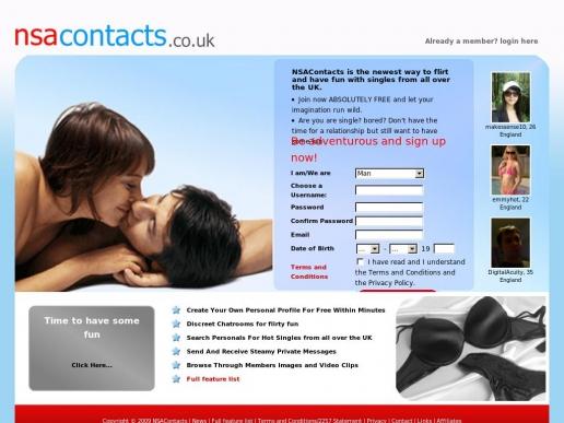 nsacontacts.co.uk thumbnail