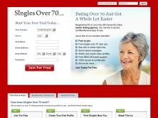 singlesover70.co.uk thumbnail