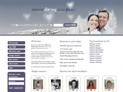seniordatingcompany.co.uk thumbnail