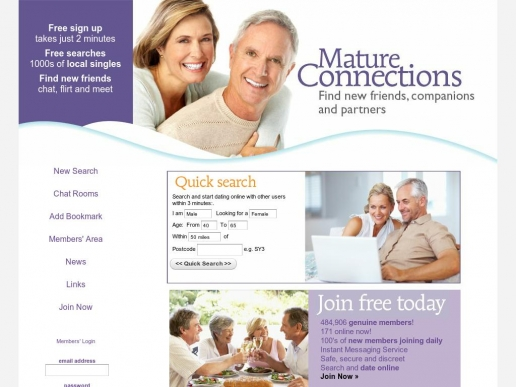 matureconnections.co.uk thumbnail