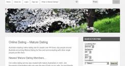 maturedating.net.au thumbnail