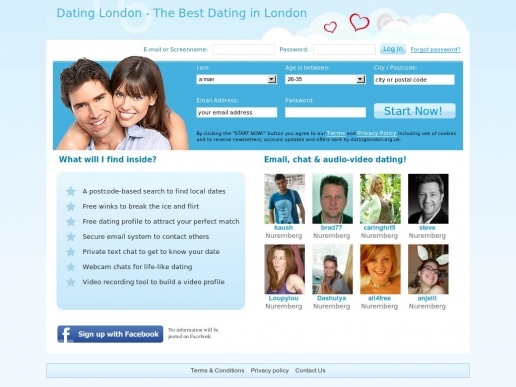 datinglondon.org.uk thumbnail