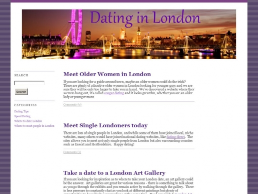 dating-in-london.co.uk thumbnail