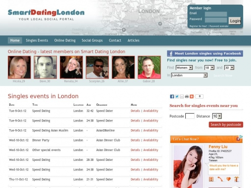 smartdatinglondon.co.uk thumbnail