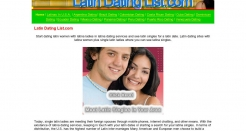 latindatinglist.com thumbnail