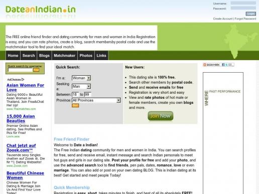dateanindian.in thumbnail