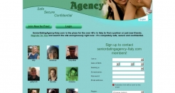 seniordatingagency-italy.com thumbnail