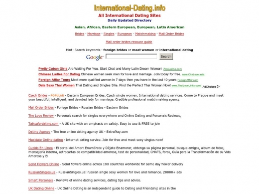 international-dating.info thumbnail