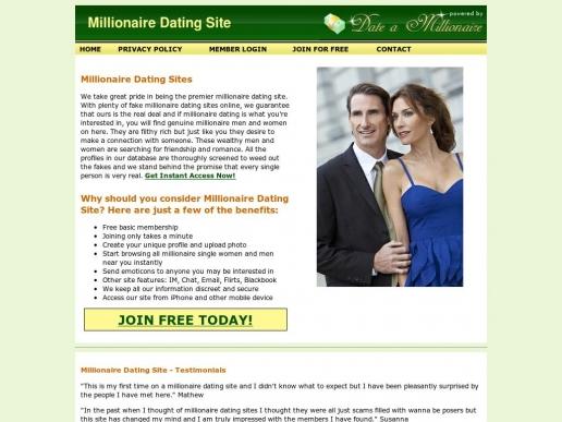 millionairedatingsite.net thumbnail