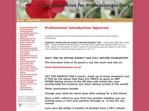professionaldatingagencies.co.uk thumbnail