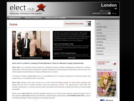 electclub.co.uk thumbnail