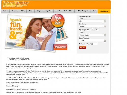 freindfinders.info thumbnail