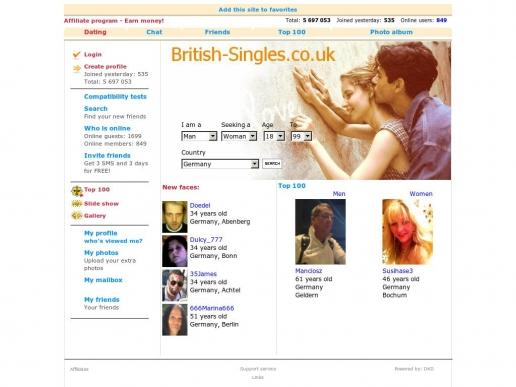 british-singles.co.uk thumbnail