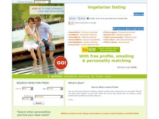 vegetarian-dating.org thumbnail