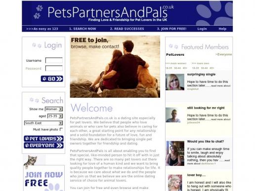 petspartnersandpals.co.uk thumbnail