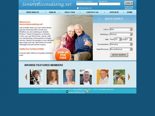 seniorcitizensdating.net thumbnail