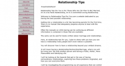relationship-tips-for-you.com thumbnail