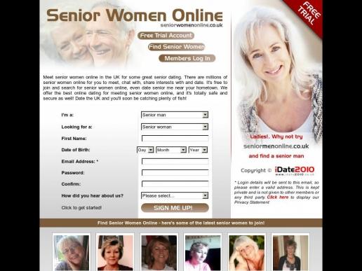 seniorwomenonline.co.uk thumbnail