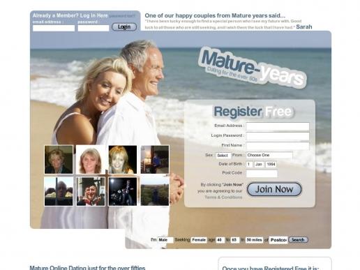 mature-years.co.uk thumbnail
